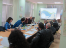 Среща със заинтересованите страни за обсъждане на заливни равнини в българския участък на река Дунав 15 май 2019 г.