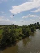 Министър Димов провери за добив на инертни материали с дрон