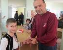 """Децата от """"Теменуга"""" поздравиха екипа на БДДР за Баба Марта"""