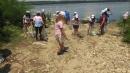 Кампанията за почистване на Дунав от пластмасови отпадъци с последователи и в Никопол