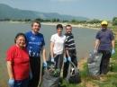"""Басейнова дирекция за управление на водите Дунавски район с център Плевен даде своя принос към кампанията """"Да изчистим България за един ден"""""""