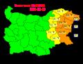 На 15.06 в резултат на валежи на места ще има повишения на речните нива