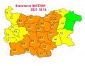 На 14.10 в резултат на валежи на места се очакват повишения на речните нива