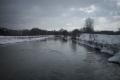 Водните количества на реките в по-голяма част от страната са около праговете за високи води